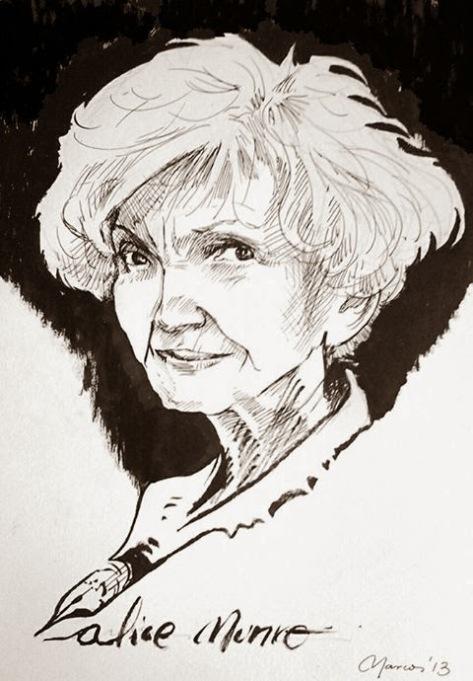 Alice Munro por Marcos Reina