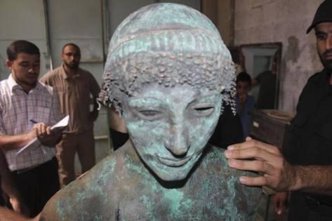 Estatua-Apolo-Gaza